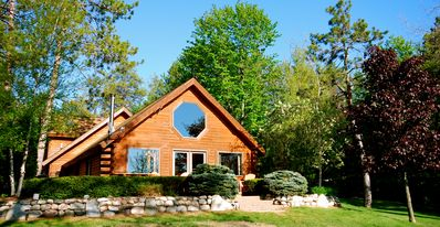 Cheboygan house rental - Serenity Cabin Welcomes You & your Family to our Private Lake Devereaux!