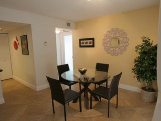 Delray Beach apartment photo - Modern open dining room. Seats up to 6 guests