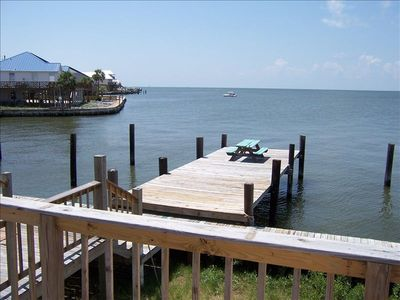 Your own private fishing, crabbing or sunning pier.