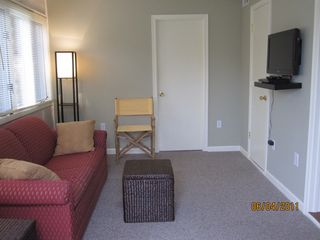 Rehoboth Beach house photo - Bonus room with queen size sleeper sofa, flat screen TV with DVD player