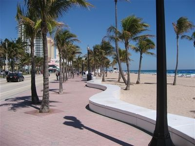 Steps to the Sandy Beaches of Fort Lauderdale, FL in the  Central Beach Area.