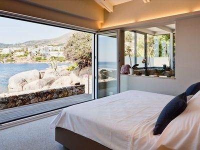 Master Bedroom with open views of Lion's Head and Table Mountain