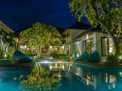 Luxury 4 Bedroom Beach Front Villa In Canggu with private staffs