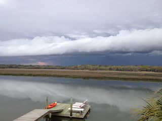 Edisto Beach house photo - Summer thunderstorm