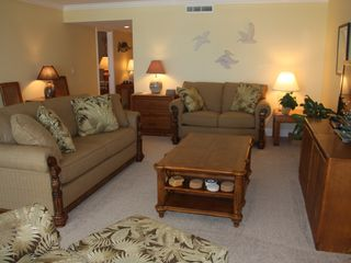 "Boca Grande condo photo - Living Room with 40"" LCD TV and Wireless Internet"