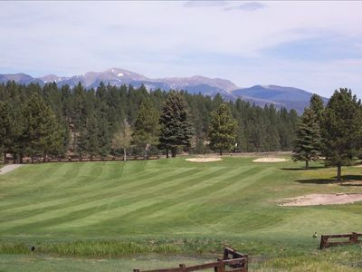 Walking distance to Angel Fire Golf Club - Wheeler Peak  (13,161') overlooking