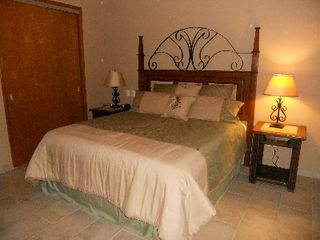Puerto Penasco condo photo - Comfy Master with Cal King bed, 2 inch memory foam, dresser, TV & DVD, Wi-Fi.