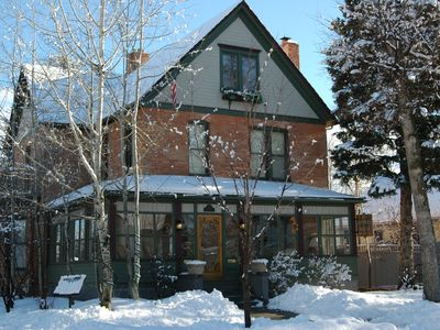 Bozeman house rental - Unique, historic and luxurious 7 bedroom house two blocks from downtown Bozeman.