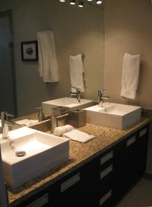 Marble Master Bathroom with Highest Quality Fixtures
