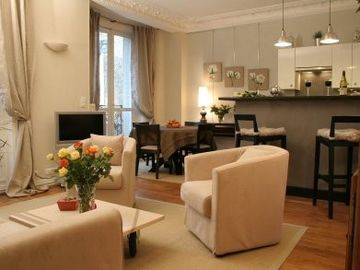 6th Arrondissement St Germain des Pres apartment rental - Living area