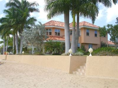 Montego Bay villa rental - Stairs from beach to house