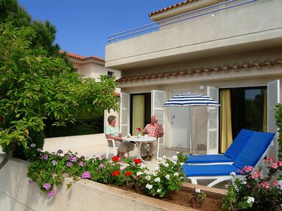 Pyla apartment rental - Individual veranda of one apt