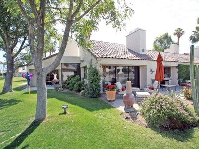 Corner location with oversized patio adds to its spacious feel.  **
