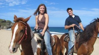 "Horseback Riding ""Tropical Trail Rides"" 3 minutes from apartment."
