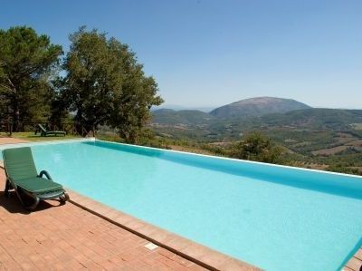 Umbertide villa rental - Swimming pool
