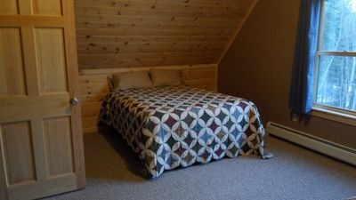 Upstairs Bedroom has Two Queen Beds