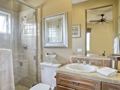 Casita Bath with walk in shower.