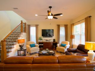 Destin house photo - Living Room with Large Flat Screen TV