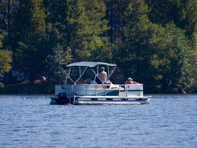 Ask about our rental pontoon boat