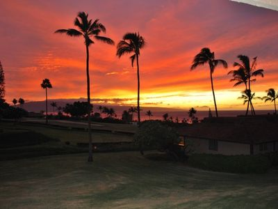 Sunset View of Paradise from the Lanai!