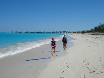 Treasure Cay townhome rental - A typical day on Treasure Cay Beach! It's a little quieter than Florida.