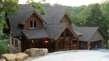Garfield cabin rental - Beautiful Log Home (Post and Beam construction)