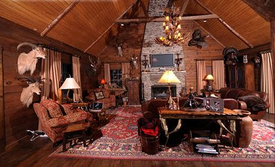 The Lodge: Living Room