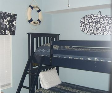 The kids get their own private bunkroom to enjoy!
