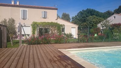 Recent house with pool in Aix-en-Provence at only 5km from the center