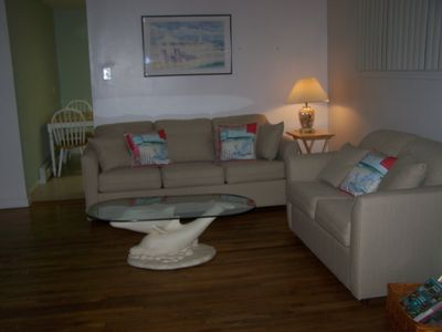 Brigantine cottage rental - Brand new Queen Sleeper Sofa & Love Seat