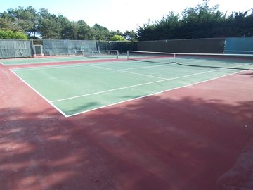 Private Tennis Courts - rackets and court key provided
