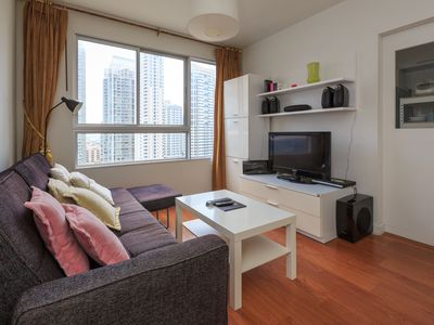 1BR High-Level Condo @Bangkok Downtown(Full amenities/kitchen/Swimming Pool)