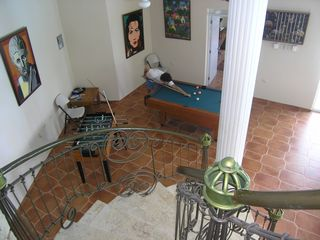 Playa Cofresi villa photo - part of games room
