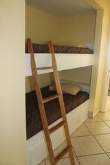 The Summit condo photo - The ladder may also be used as a rail for the top bunk.