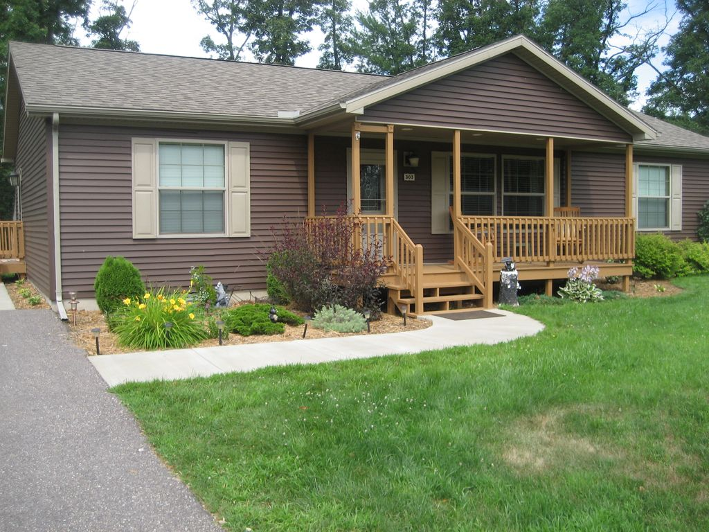 Relax on the front porch of this newer 3 bedroom ranch for Ranch style front porch
