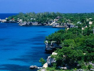 Negril villa photo - West End cliffs