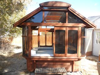 Salida house photo - Redwood Gazebo Hot Tub in private back yard