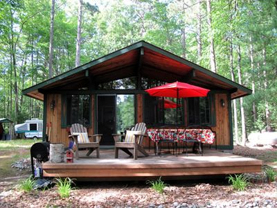 Acme cabin rental - Deck