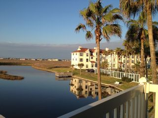 North Padre Island condo photo - Awesome views from patio