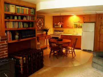 Kitchen in main living area