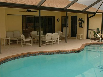 Enjoy your own private heated pool!!