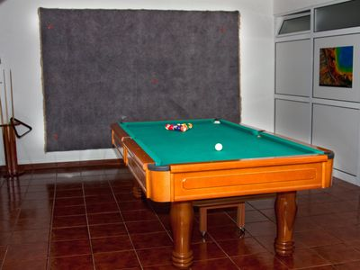 Nazare house rental - Pool table