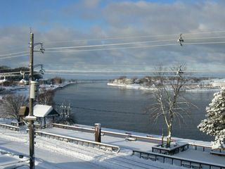 Grand Haven condo photo - Winter view of the channel from the lanai