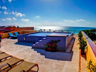 Playacar house photo - Roof Terrace with Amazing ocean view!