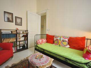 Istanbul apartment photo - The double room with queen bed and balcony