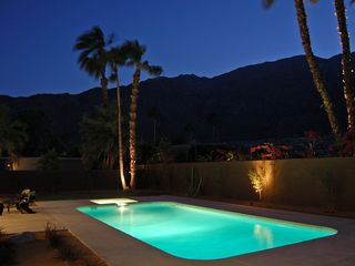 Palm Springs house photo - Sparkling Saltwater Pool and Spa