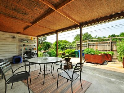 Austin house rental - Patio