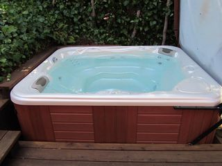 Corte Madera house photo - spa-fits up to 8 people
