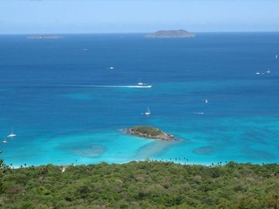 Reward yourself with a view of Cinnamon Bay from the trail.