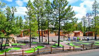 Pinetop cabin photo - Miniature Golf On-Site at the PVC at The Roundhouse Resort
